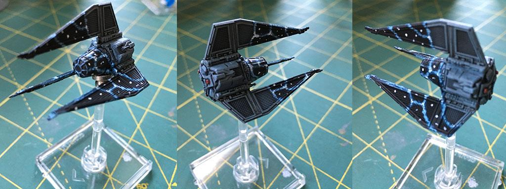 Painting X-Wing Miniatures Models - TIE Phantom