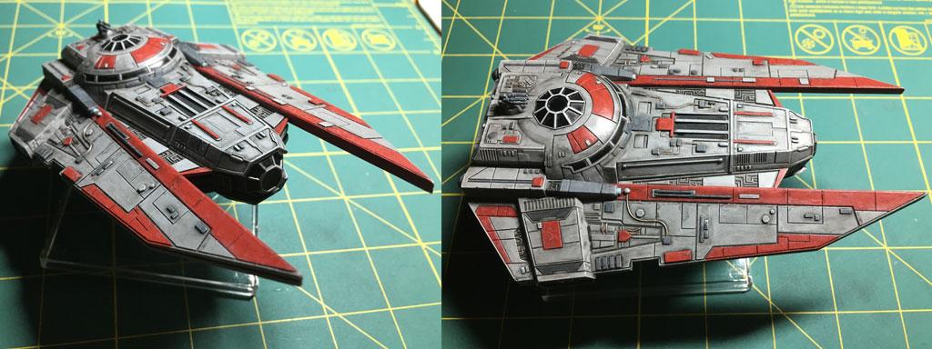 Painting X-Wing Miniatures Models - Decimator